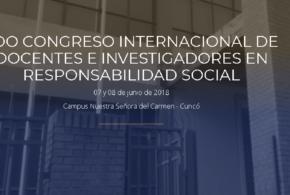 2do Congreso Internacional de Docentes e Investigadores en Responsabilidad Social