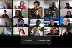 Decanos y Directivos ASFAE analizan contingencia, avances de cada Facultad y las proyectivas de ENEFA 2020