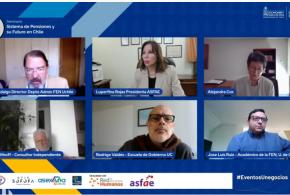Seminario reflexiona sobre el escenario actual y desafíos del sistema de pensiones en Chile
